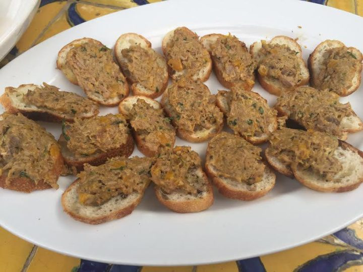 Duck Pâté Toasts