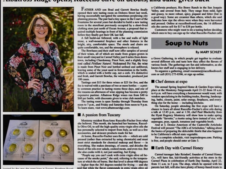 Article in the Pine Cone